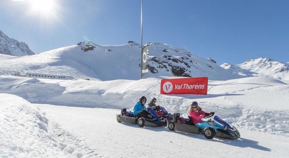 Val Thorens, France, Go Karting