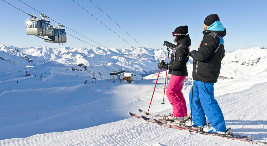 Val Thorens, France, Cable Car