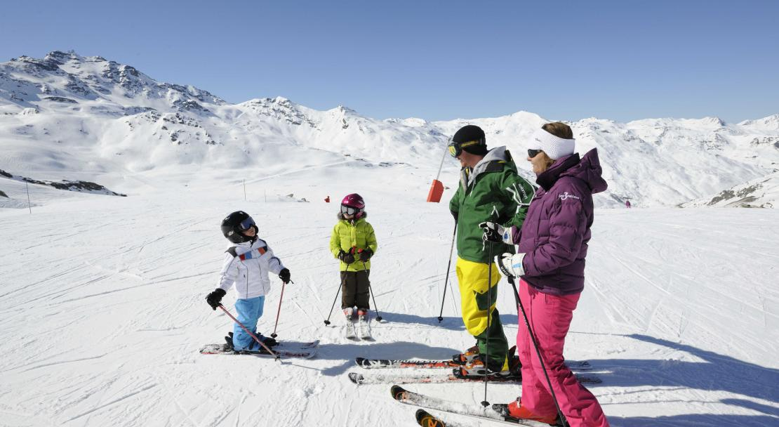 Val Thorens, France, Family Skiing