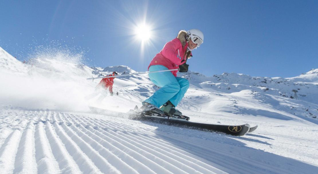 Val Thorens, France, Skiing