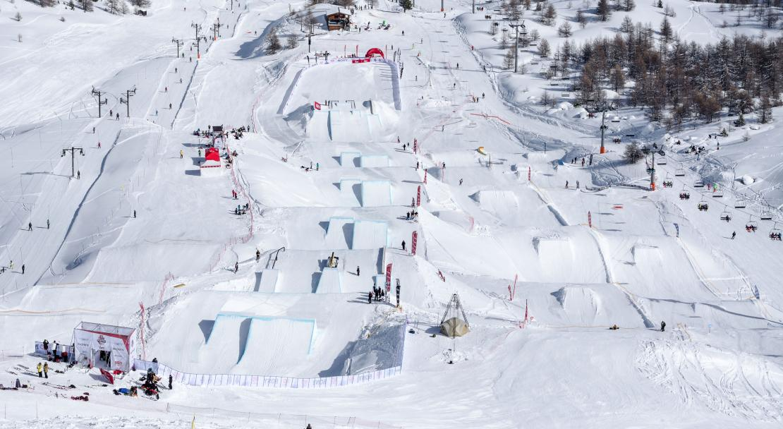 Vars-Slopestyle; Copyright: Remi Morel