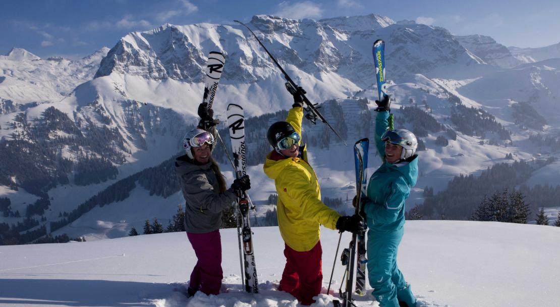 Group holiday in Adelboden