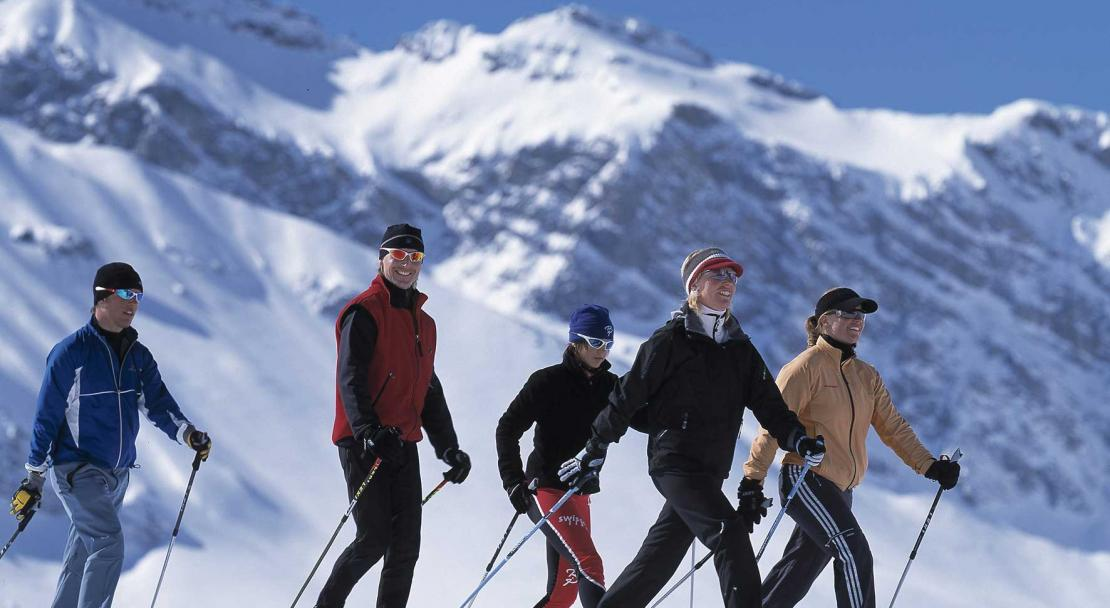 Nordic walking in Adelboden