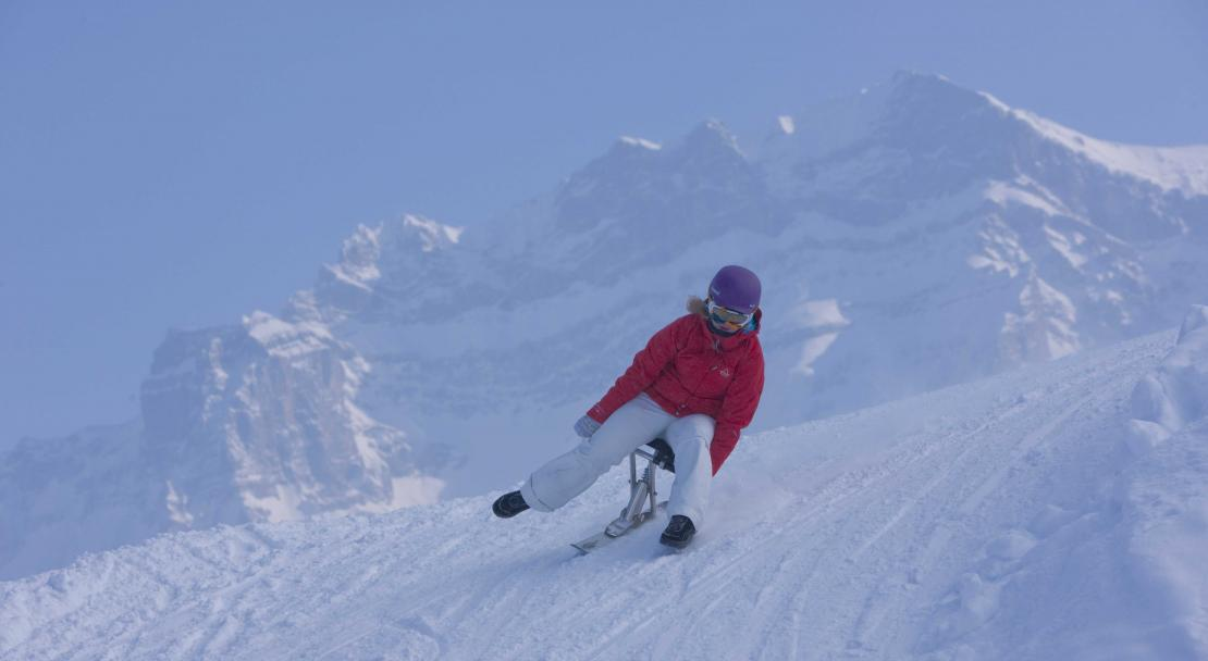 Snow activities in Adelboden