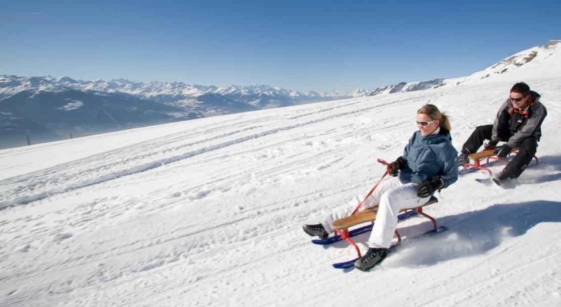 Crans Montana offers lots to do other than skiing.