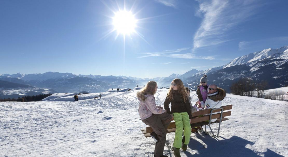 Picnic spot in Crans Montana; Copyright: Denis Emery