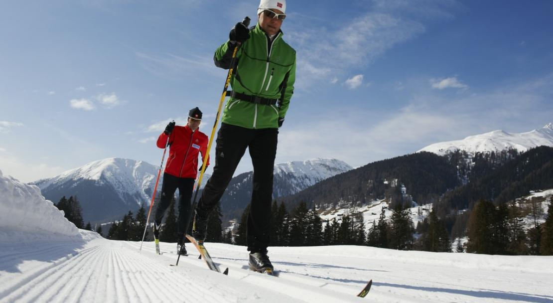 Davos cross country skiing