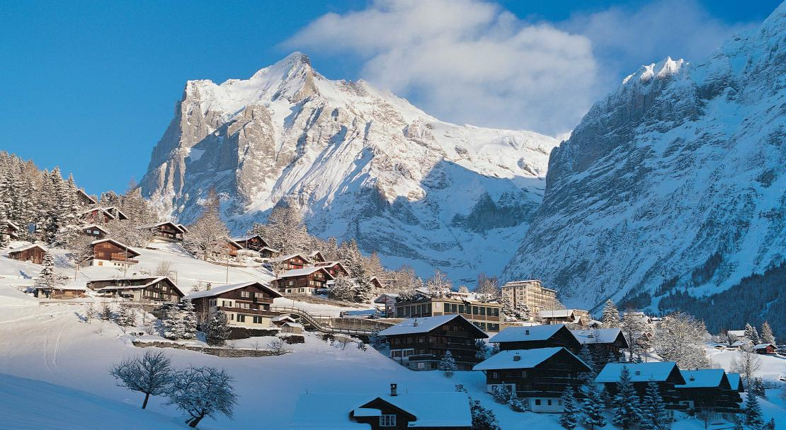 The village of Grindelwald