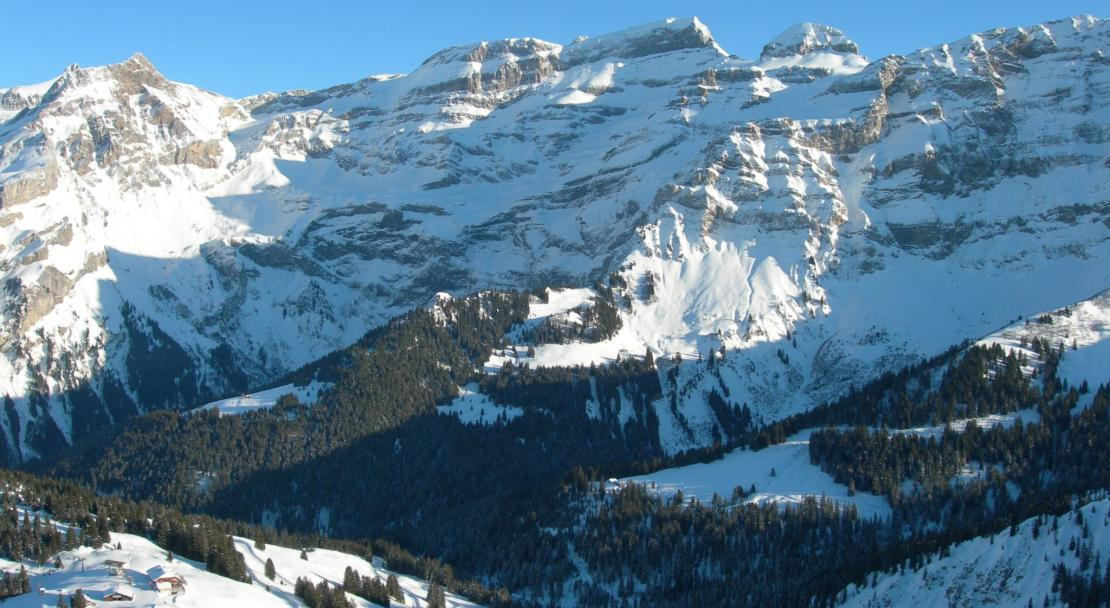 Les Diablerets ski village, Switzerland; Copyright: Les Diablerets Tourist Office