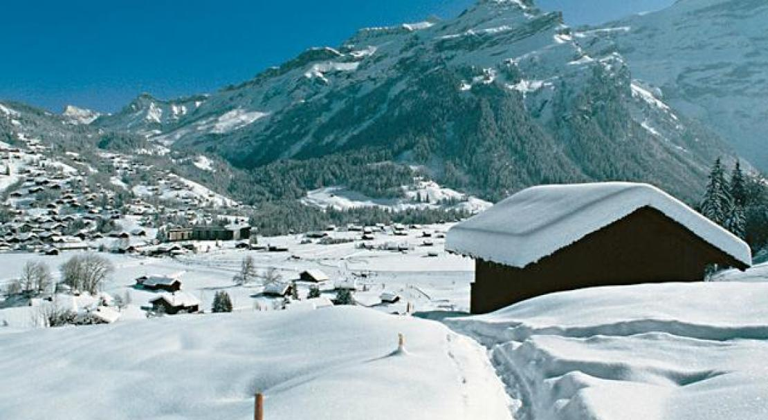 The Les Diablerets Village in the Swiss Alps; Copyright: Les Diablerets Tourist Office