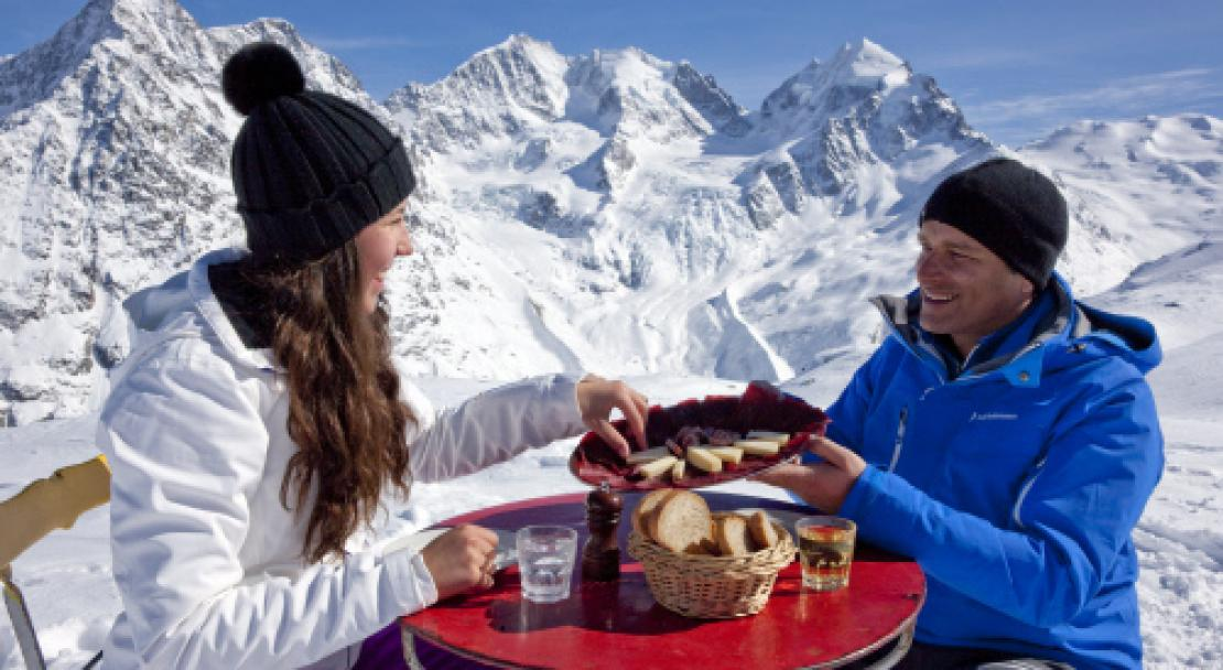 Bread and Cheese in St Moritz