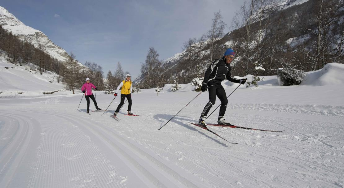 Cross Country skiing in Zermatt