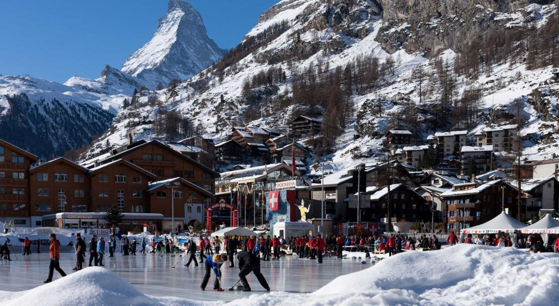 Curling Tournament in Zermatt