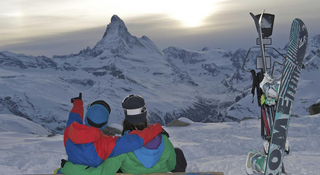 Sunset views in Zermatt; Copyright: Michael Portman