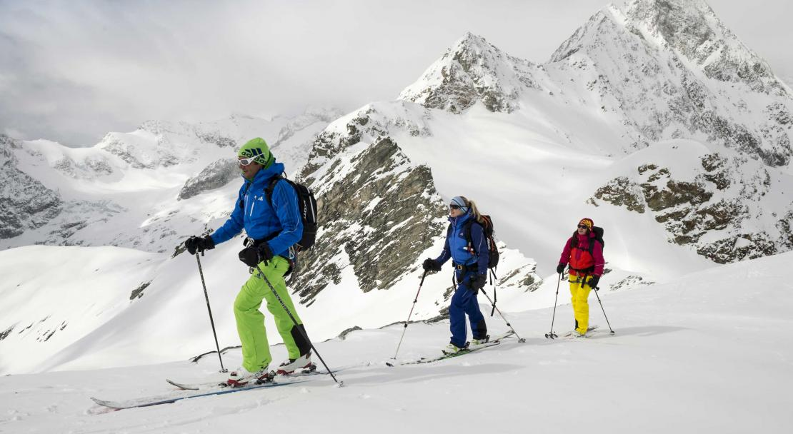 Ski touring in Zermatt; Copyright: Rainer Eder