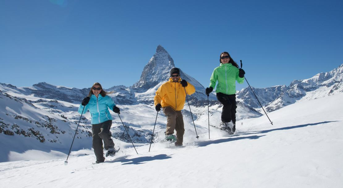 Zermatt shoeshoe hike; Copyright: Mark Weiler