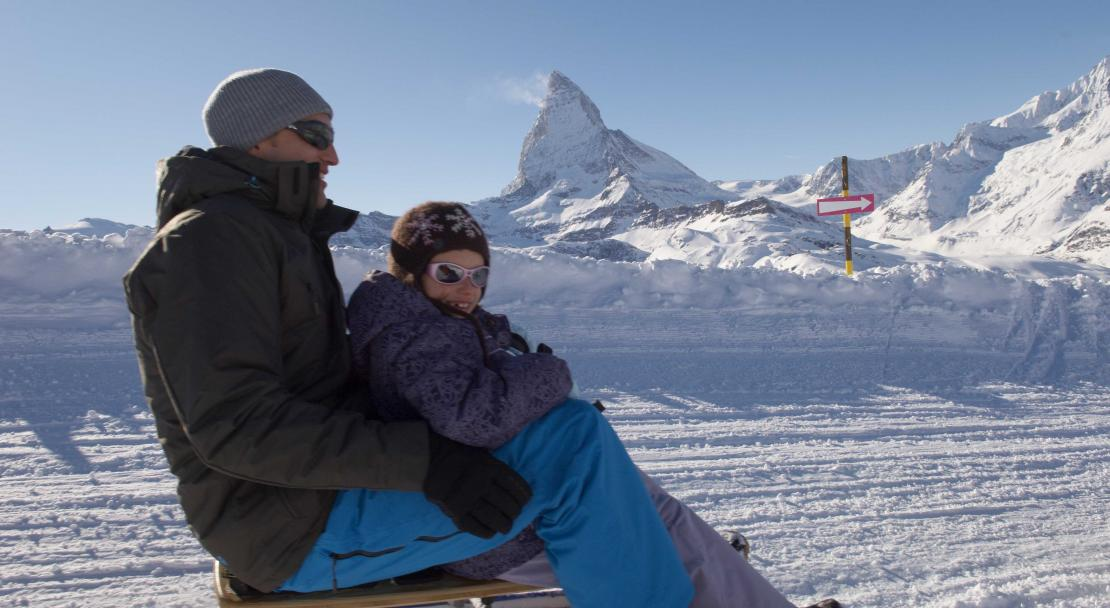 Tobogganing in Zermatt; Copyright: co-o-peration