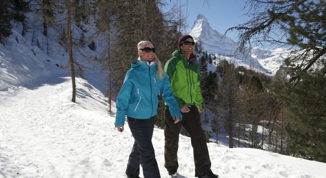 Winter hike in Zermatt; Copyright: Michael Portman