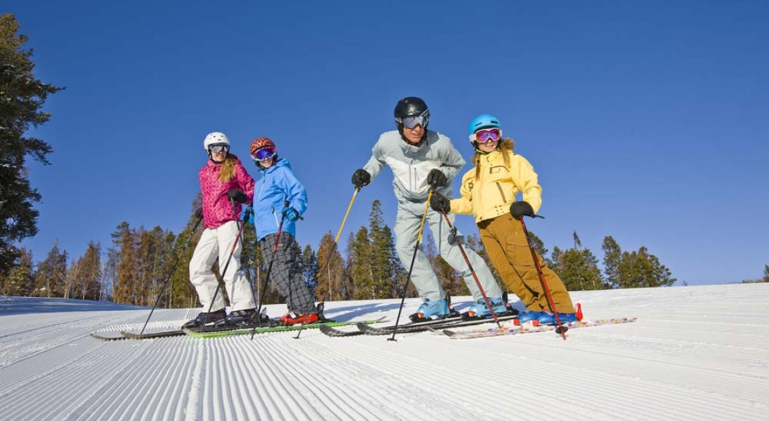 Beaver Creek Ski Resort Family