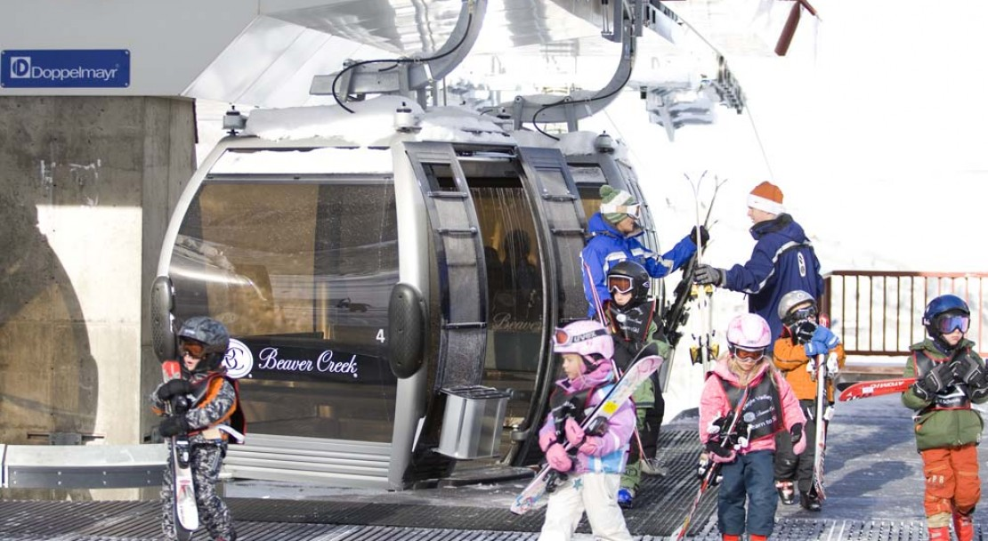 Beaver Creek Ski Resort Beginners Gondola