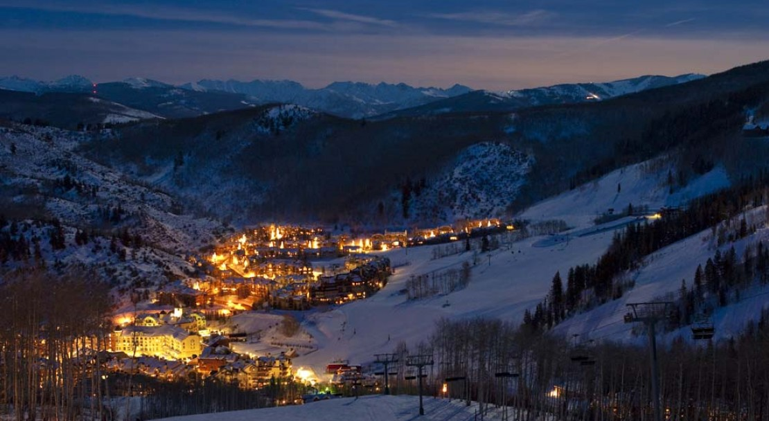 Beaver Creek Ski Resort at Night 2