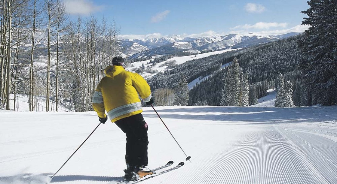 Beaver Creek Ski Resort On Piste Skiing