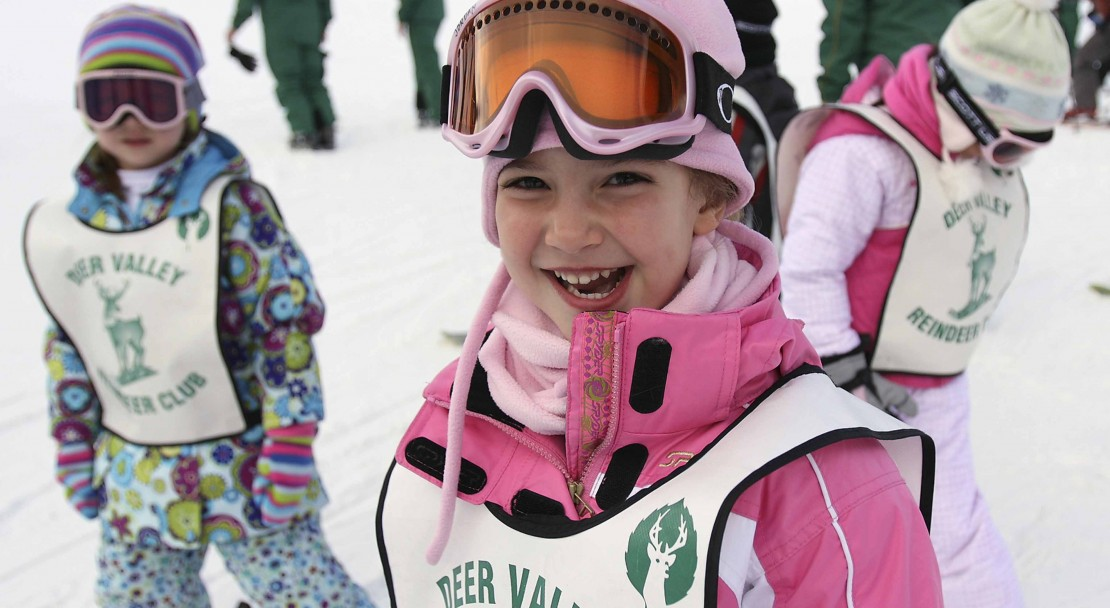 Deer Valley Ski Holiday Kids Ski School