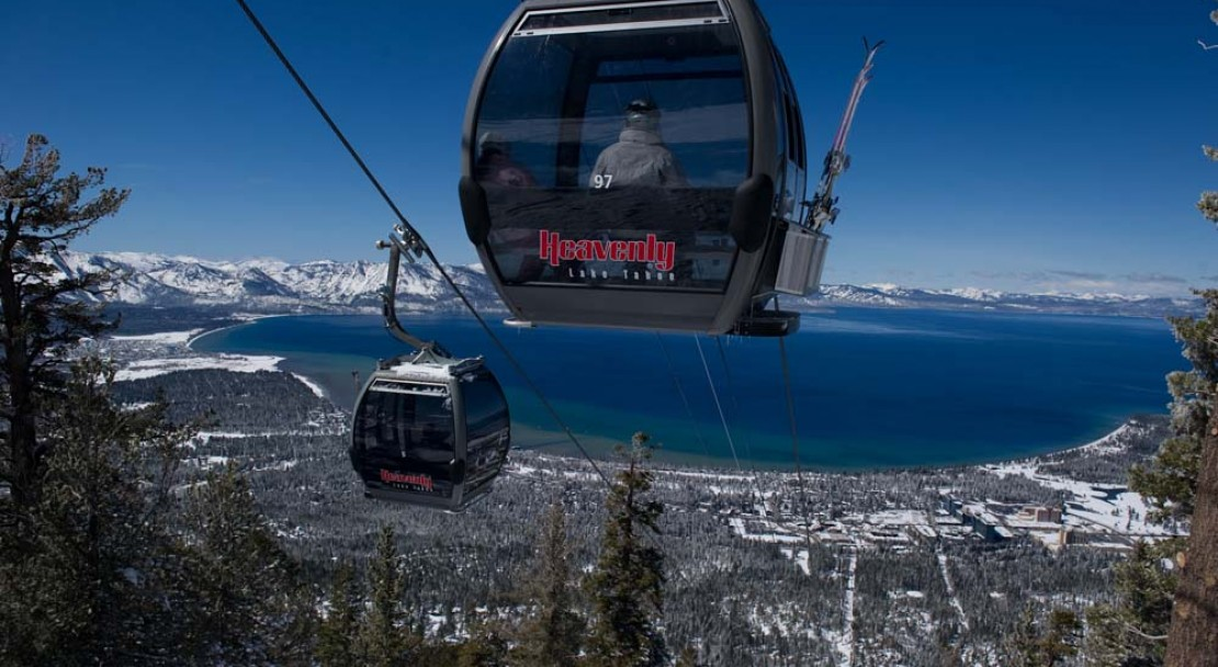 Heavenly Ski Holiday Gondola