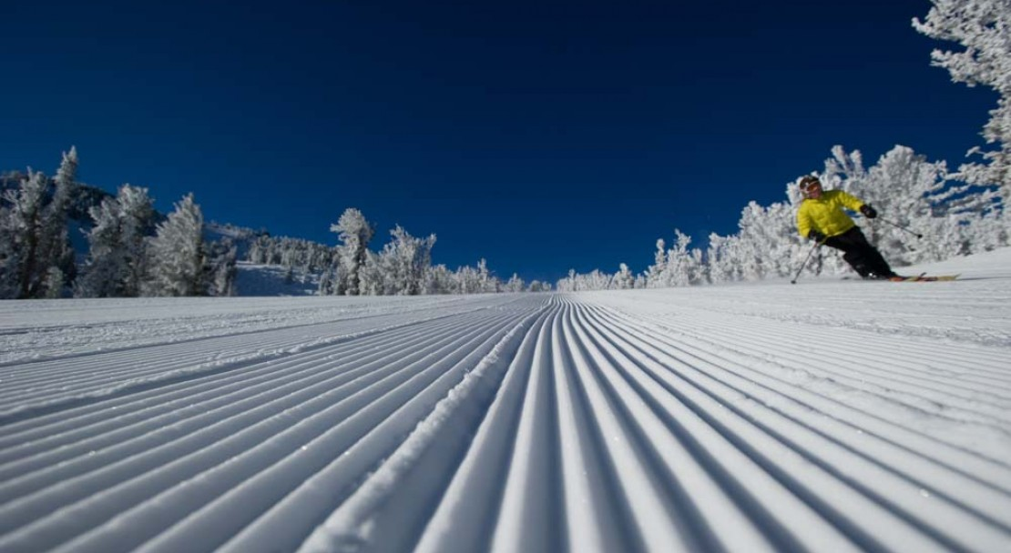 Heavenly Ski Holiday Groomed Run