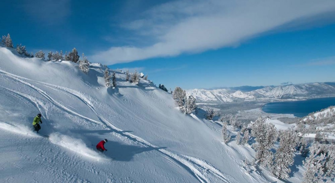 Heavenly Ski Holiday Skier Shot