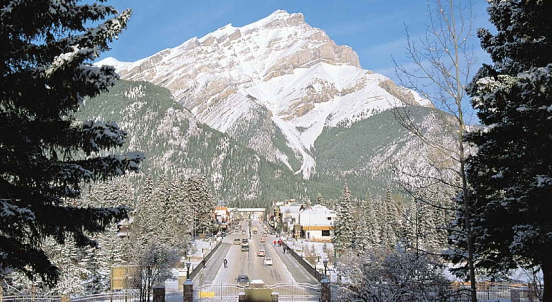 Mountain in Banff