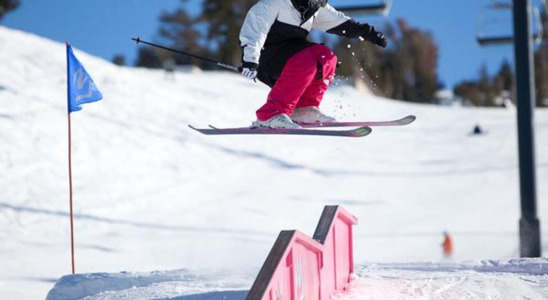 Seven terrain parks and 3 half pipes, this is an unbeatable resort for freestyle skiing and snowboarding
