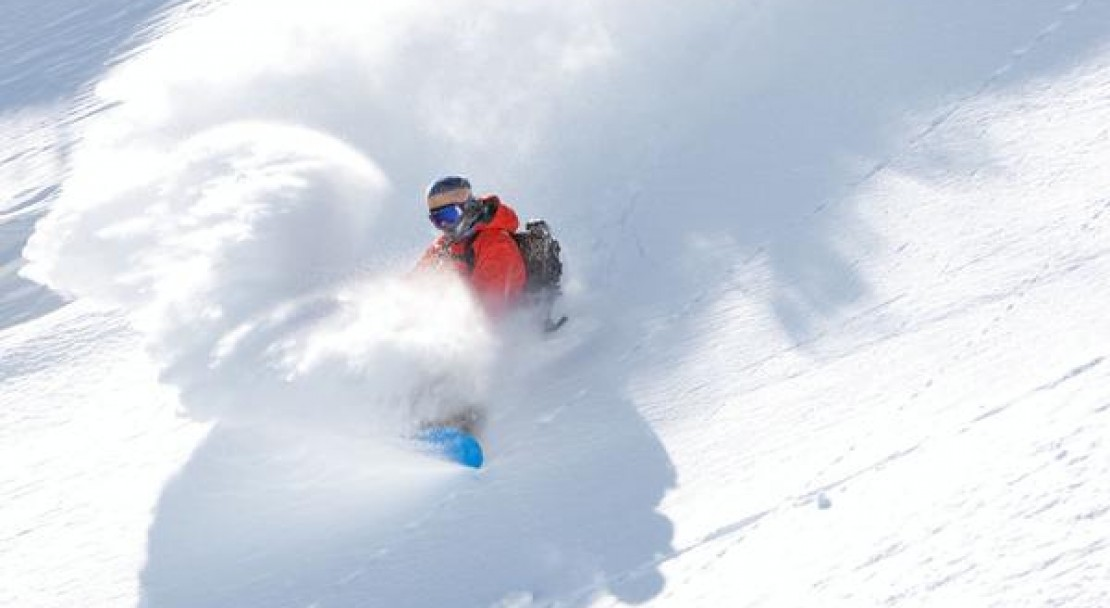 Powder in Mammoth