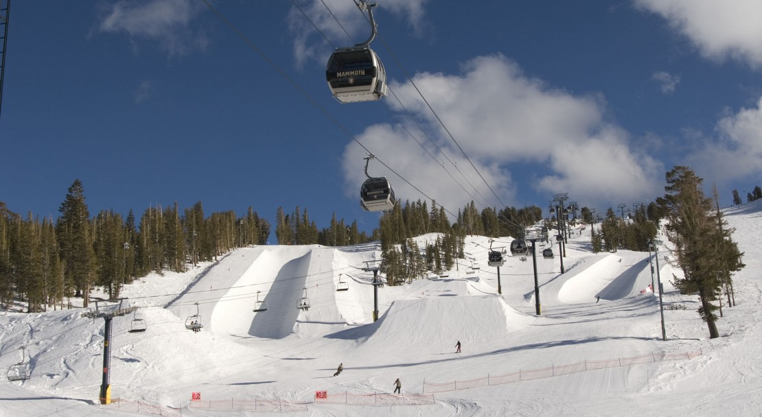 One of the best resorts in the world for snowboarding and freestyle skiing