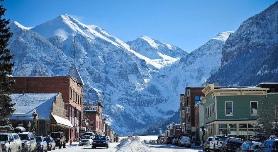 The Town of Telluride; Copyright: Merrick Chase - Telluride Tourist Office