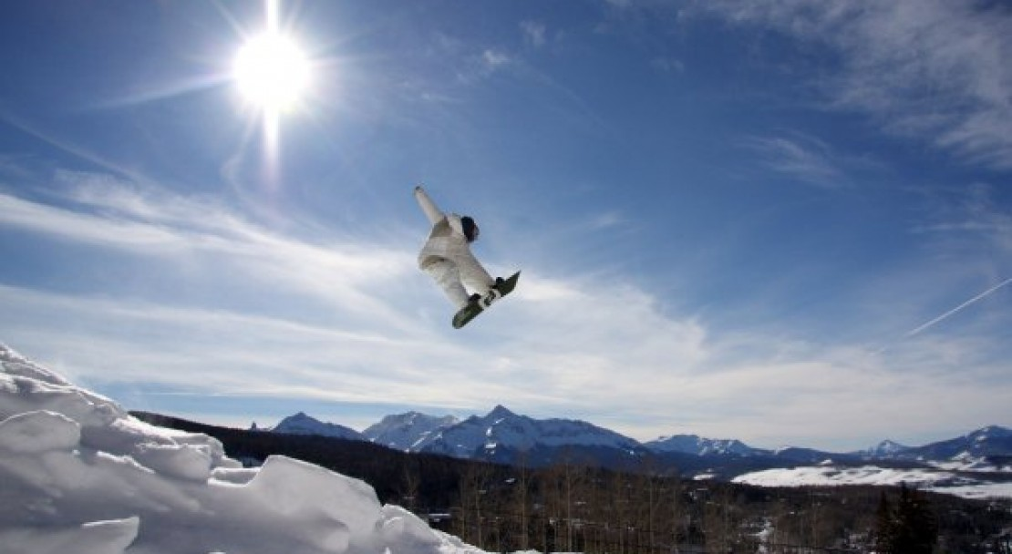 Jumping in Telluride; Copyright: Telluride Tourist Board