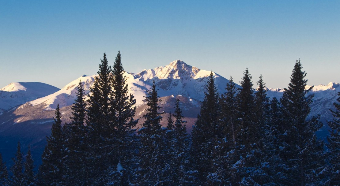 Sunset in Vail; Copyright: Jack Affleck