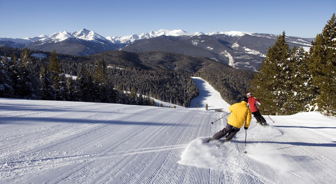 Wide open slopes in Vail; Copyright: Jack Affleck