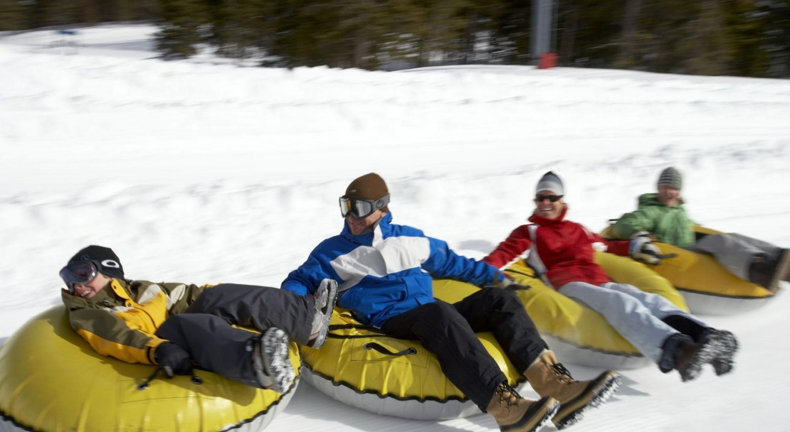 Go tubing for some fun in Vail; Copyright: Jack Affleck