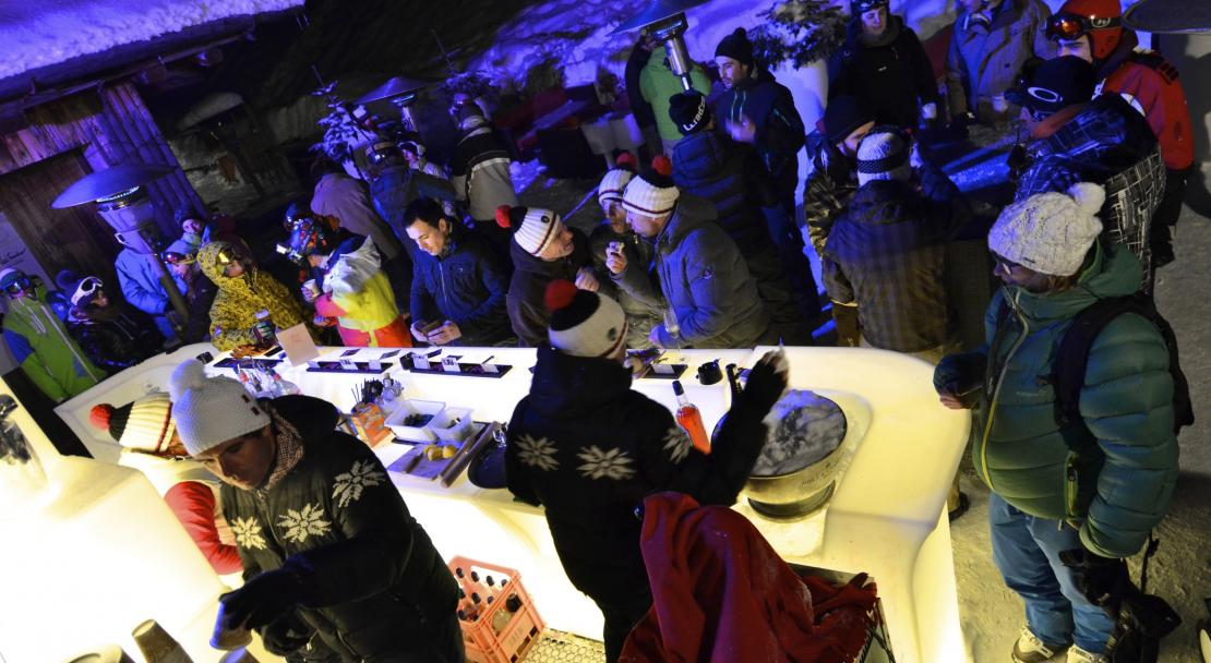 Apres Ski in La Clusaz; Copyright: David Machet