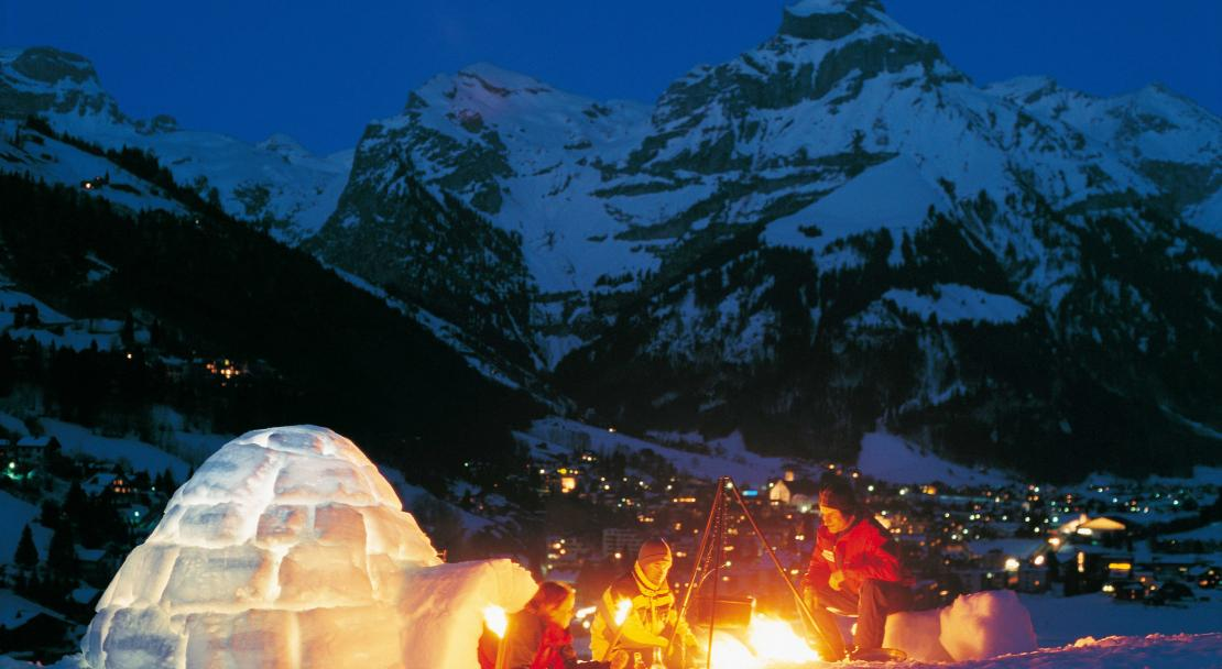 Igloo in Engelberg