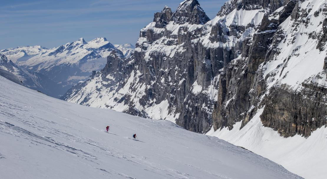 Skiing in Engelberg - Mountains