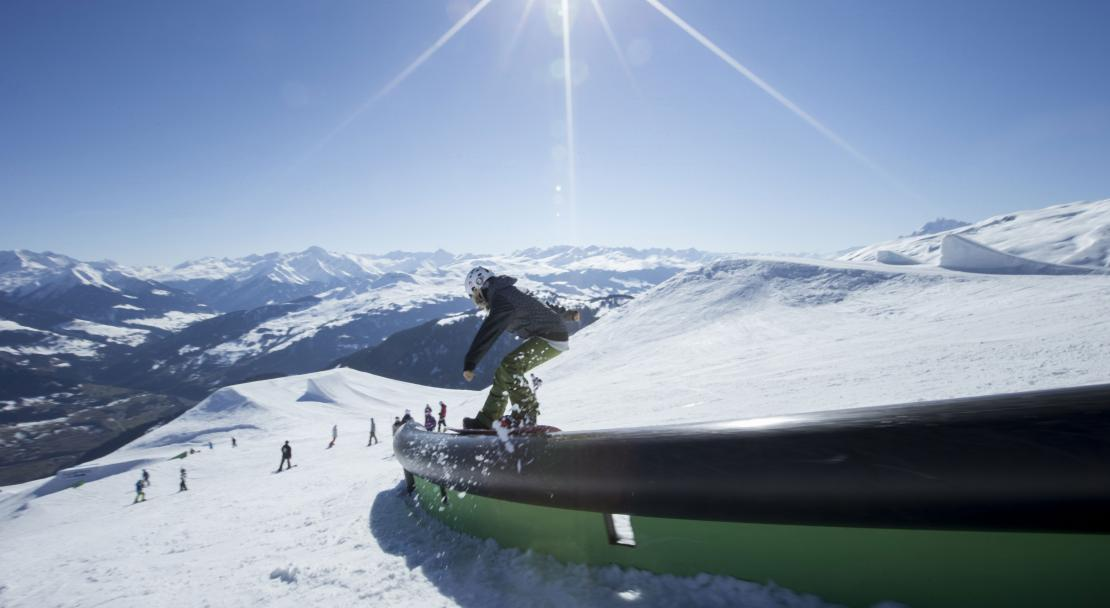 Park in Films Laax