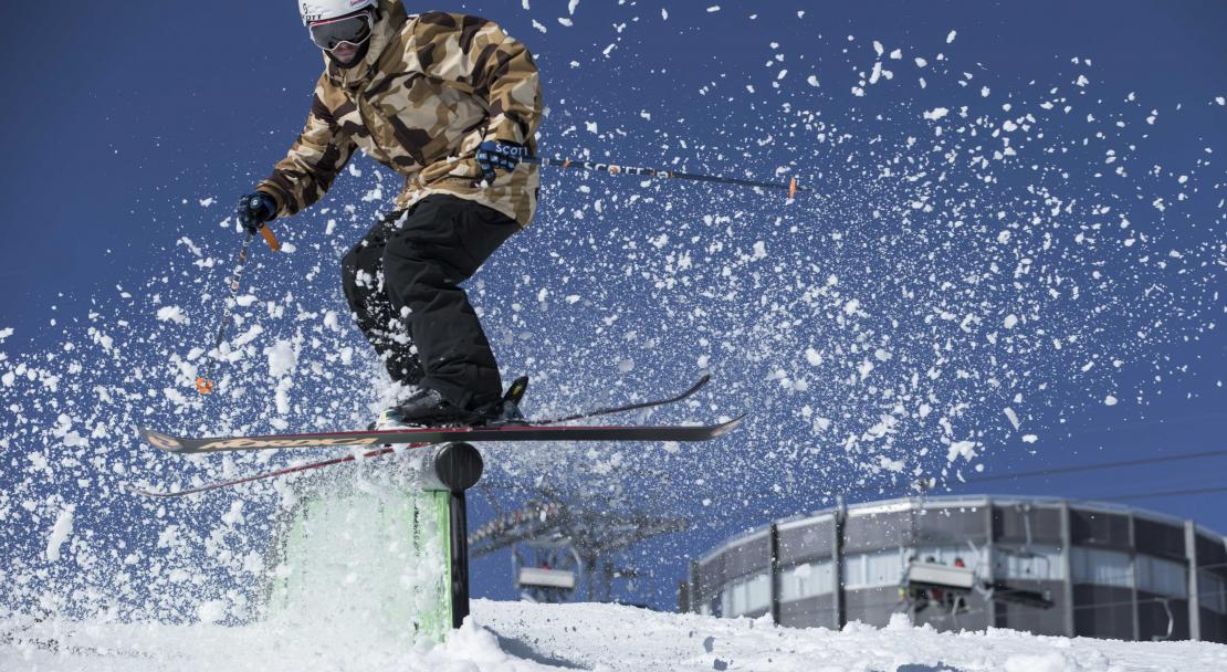 Rail in Films Laax