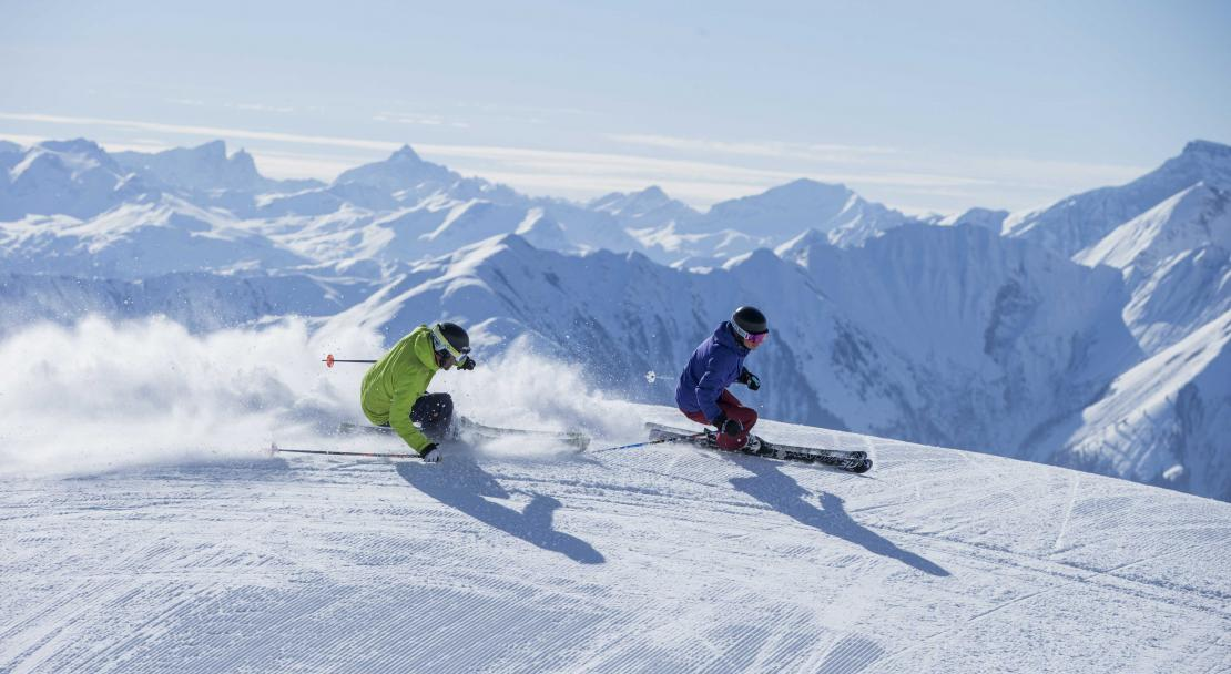 Skiing in Films Laax