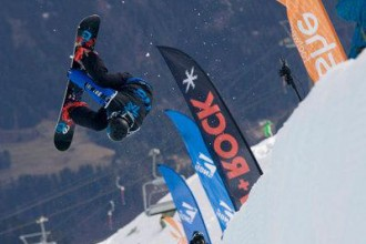 Dan Breen at the Brits in Laax