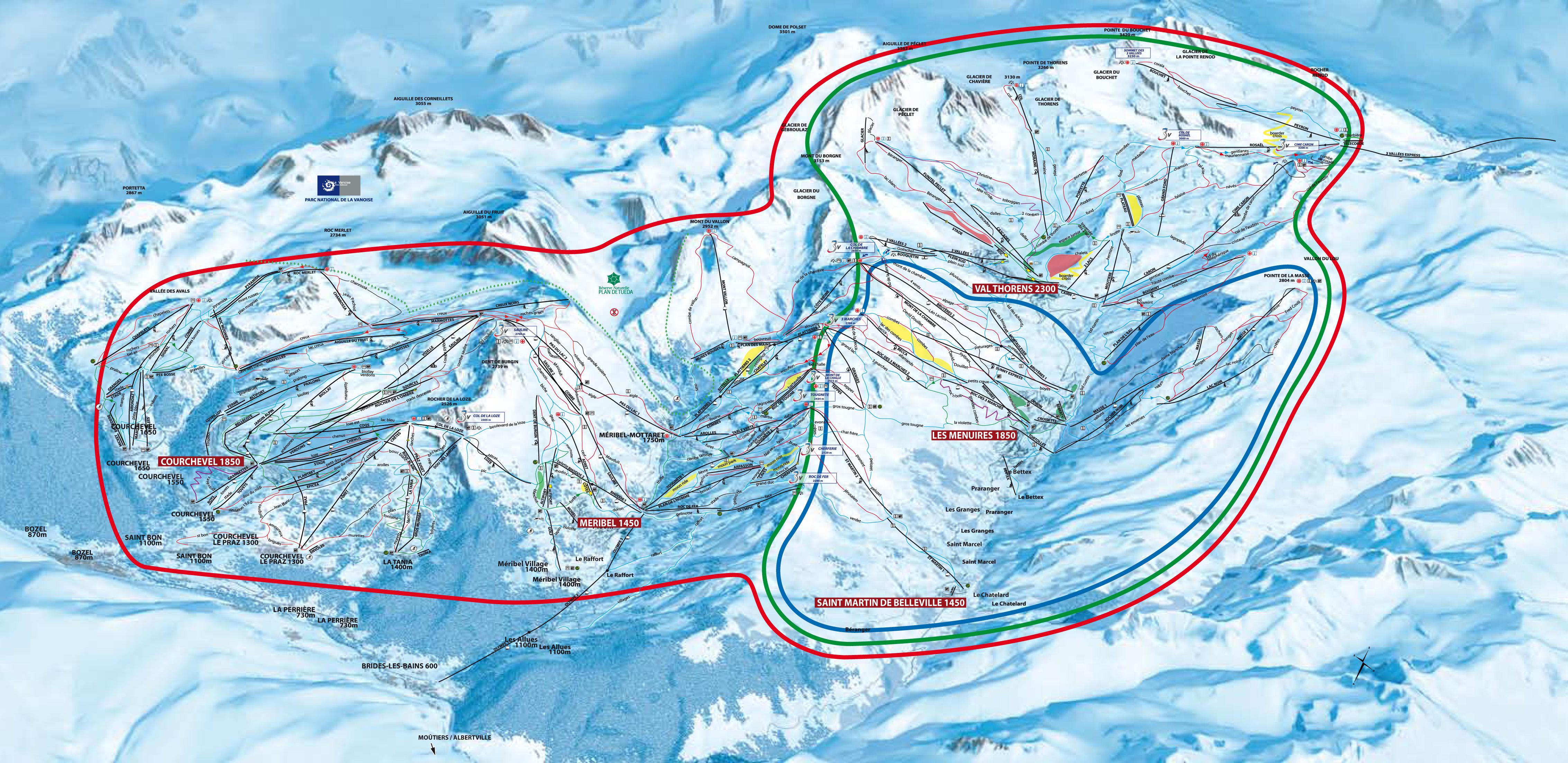 whistler ski runs map with Saint Martin De Belleville on 56 110279 17269684 Wlochy  Slowacja  USA   najciekawsze osrodki narciarskie in addition Mont Tremblant map slopes besides Monashee Mountain Cats further Skiing further Piste Map Blue Mountain Ski Maps.