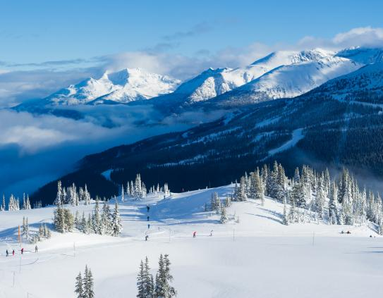 Whistler Blackcomb Ski Resort; Copyright: Mike Crane