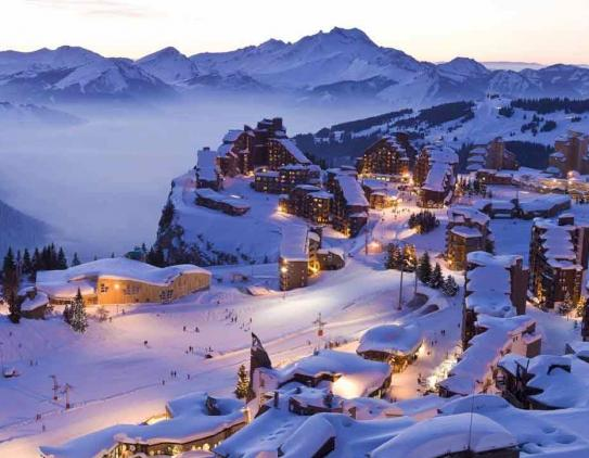 Avoriaz Piste Maps and Ski Resort Map PowderBeds