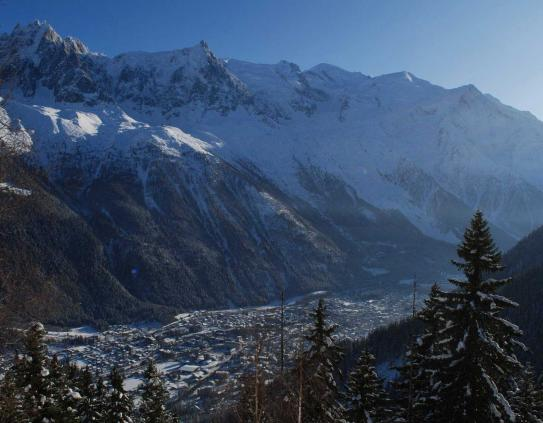 Chamonix valley; Copyright: Bannikov